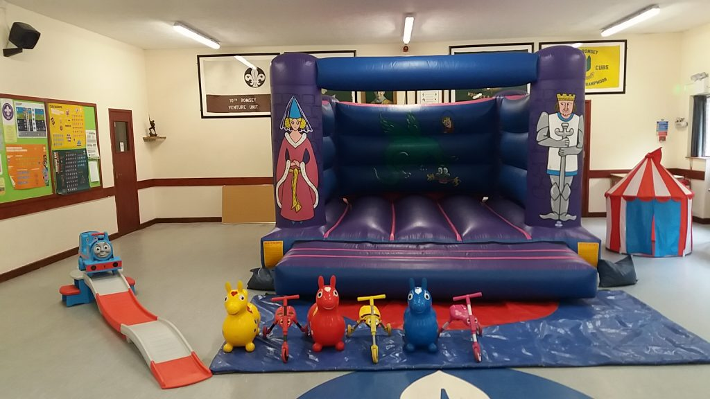 Braishfield Scout Hut Bouncy Castle