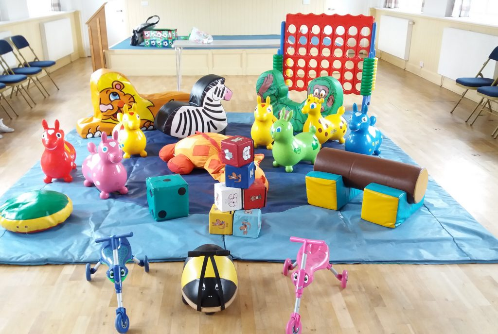 Soft play hire in Bursledon Southampton for 1st Birthday Party