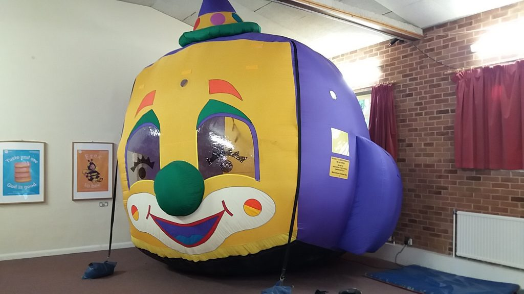Balloon Typhoon HIre Southampton Bouncy Castle Birthday Party