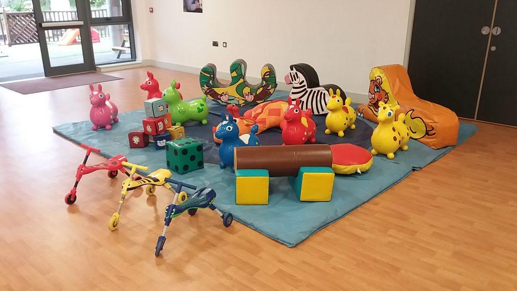 Soft play hire in Southampton Lowford Bursledon Community Centre
