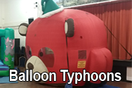 Balloon Typhoon Wedding Party Hire Equipment Southampton Event Fayre School Fete Church