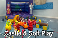 bouncy castle soft play for parties hire Southampton equipment kids children birthday party