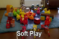 soft play for parties hire Southampton equipment kids children
