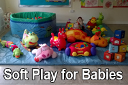 soft play for parties hire Southampton equipment baby babies christening