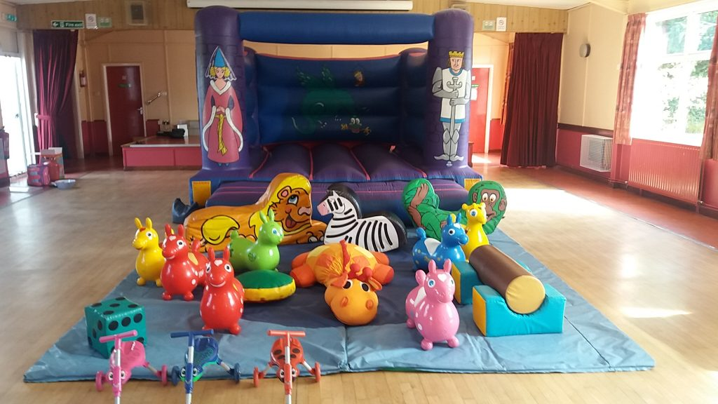 princess bouncy castle with soft play for 1st birthday party Bramshaw, Hampshire