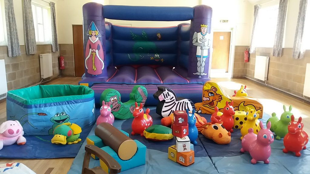 Knights bouncy castle for hire birthday christening baby naming Woolston Southampton