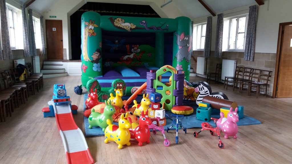 Jungle bouncy castle hire at St Francis Hall, Eastleigh