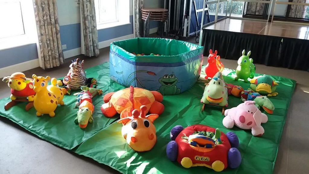 Soft play for babies with ballpool at Hedge End Venue