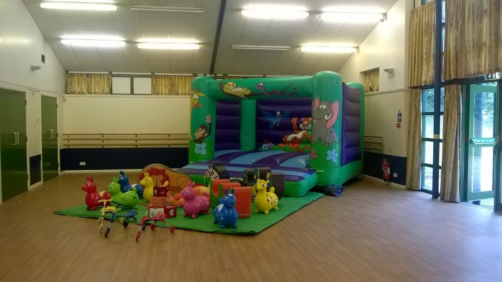 Hedge End Drummond Centre Eastleigh Council Bouncy Castle Hire Soft Play Birthday Party