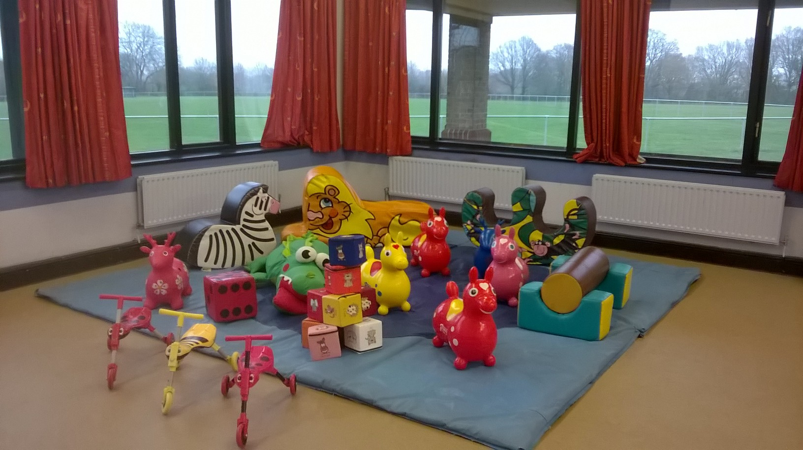 Soft play for hire at Norman Rodaway Hall, Hedge End