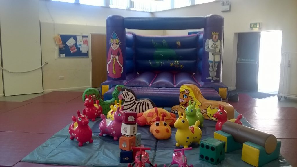 bouncy castle and soft play to hire in Southampton area for Birthday party