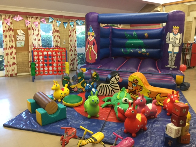 Bouncy Castle & Soft Play Hire Preschool Toddler Party 3rd Birthday Connect 4
