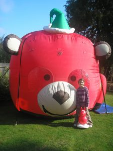 Teddy Balloon Typhoon Birthday Party Equipment Hire Southampton
