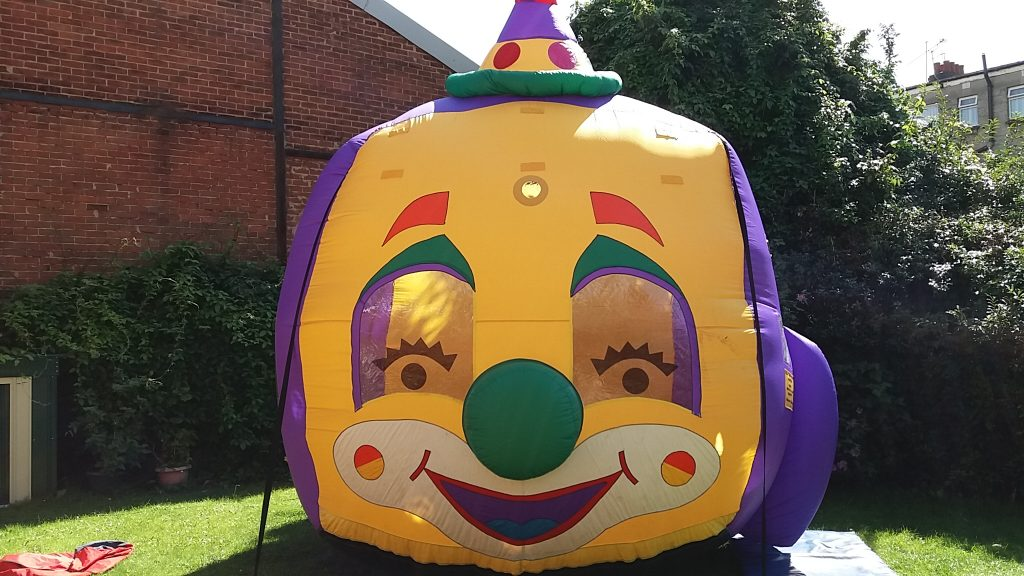 Clown Balloon Typhoon Birthday Party Hire Southampton