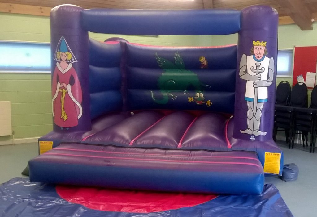 Knights Princess Party Bouncy Castle Hire Southampton Woolston Chandlers Ford