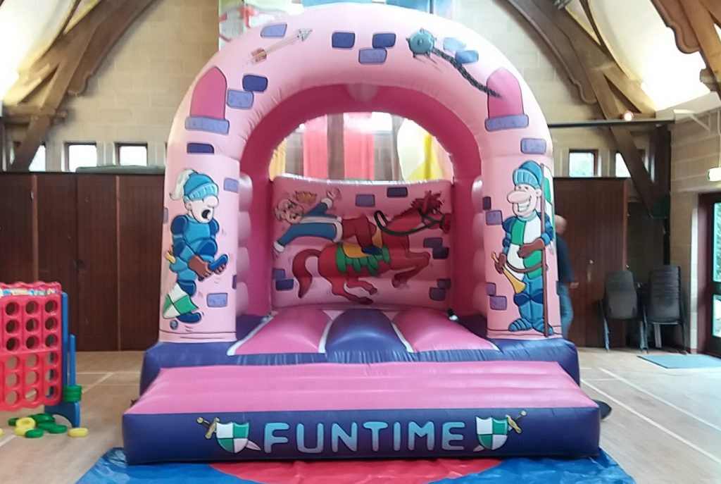 Pink Palace Princess Bouncy Castle Hire Girls Birthday Party SOuthampton