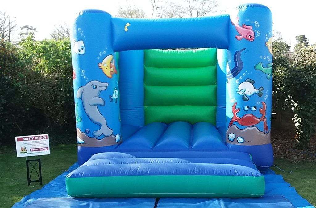 Sealife Under the Sea Bouncy Castle Hire Southampton Totton Lyndhurst Kids