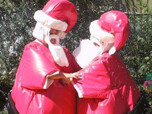 Christmas Santa Sumo Suit Hire Southampton