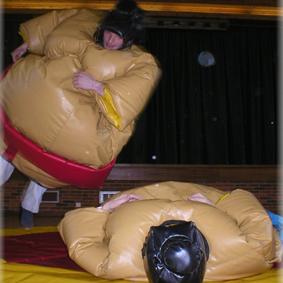 Sumo Wrestling Fat Suit Hire Southampton Woolston