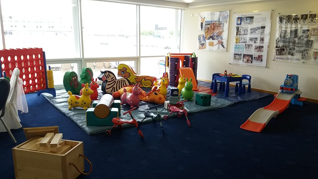 Mixed selection of Soft Play for hire with Giant Garden Games, Duplo Table, etc.