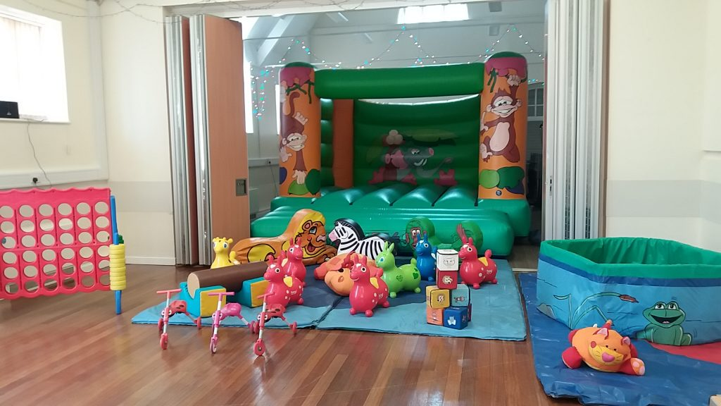 adult bouncy castle christening party soft play and ballpool Woolston Southampton
