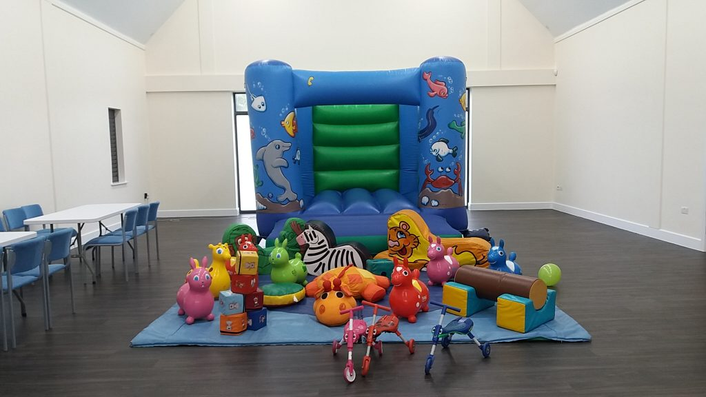 Sealife Under the Sea Bouncy Castle Soft Play Hire Romsey Braishfield Abbotswood Community Centre