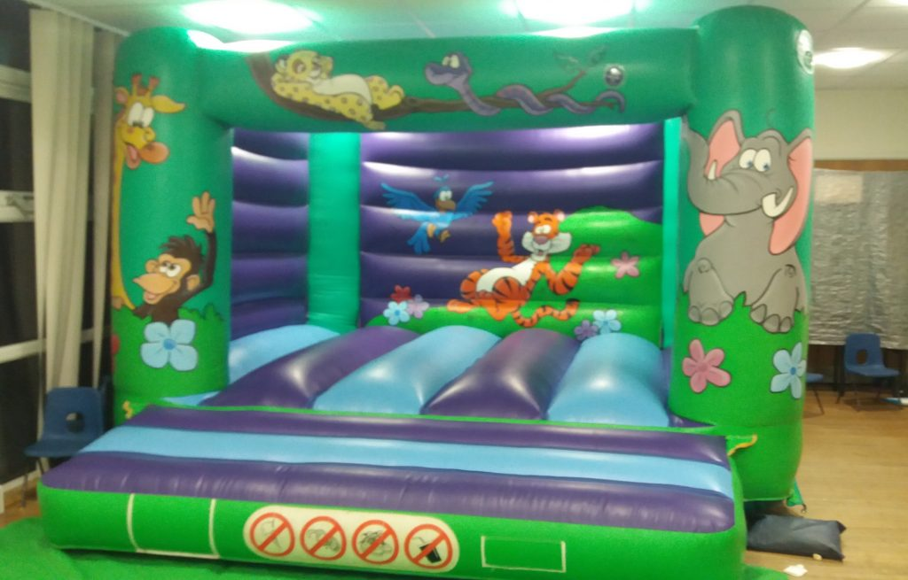 Jungle bouncy castle hire in Thornhill Baptist Church Hall, Southampton