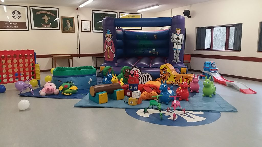 Knights & Princess Bouncy Castle with Ballpit, Softplay, Thomas Roller Coaster and Giant Connect 4