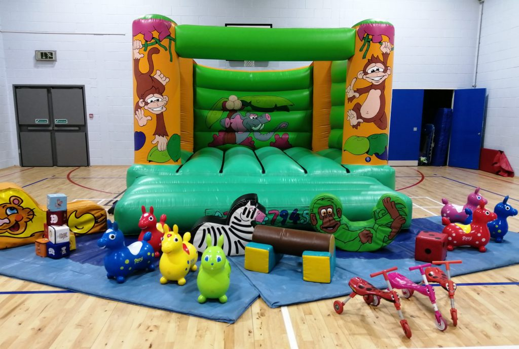 adult bouncy castle with soft play for community celebrations and events