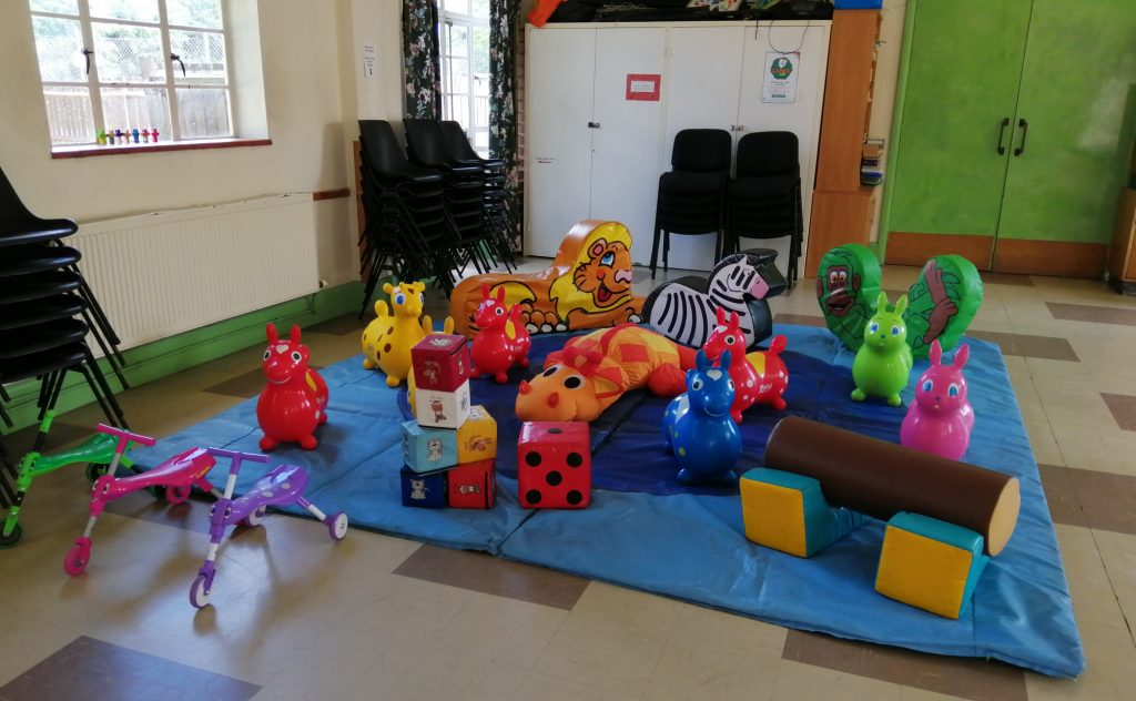 soft play for pre-school birthday party in Bitterne, Southampton