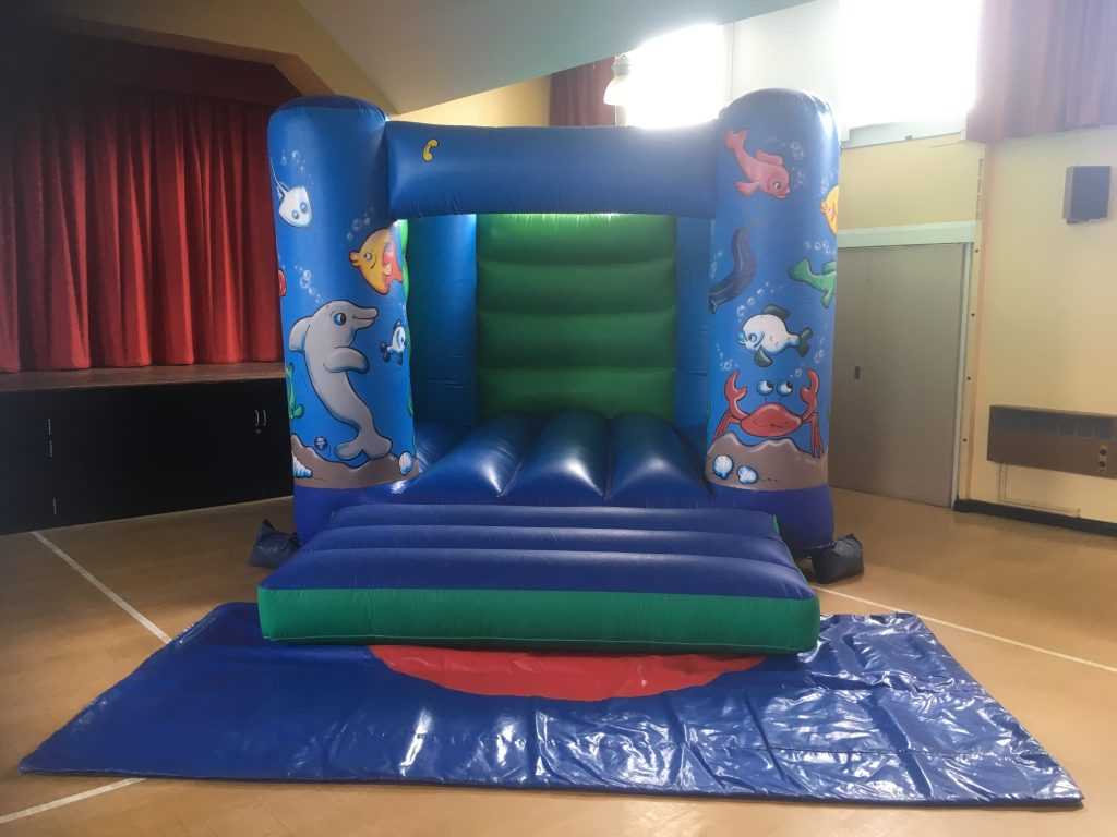 sealife under the sea themed bouncy castle hire in copythorne bartley southampton