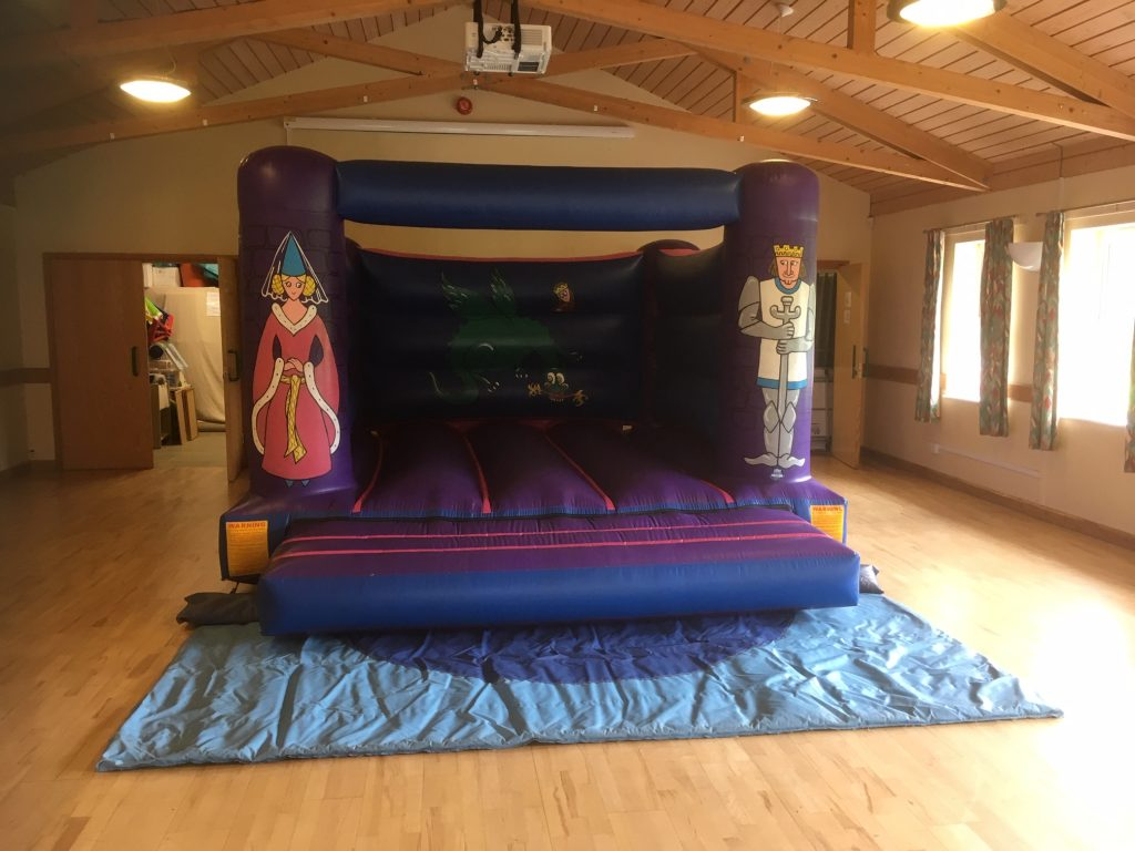 Awbridge Village Hall Birthday Party Ideas Kids Bouncy Castle Hire