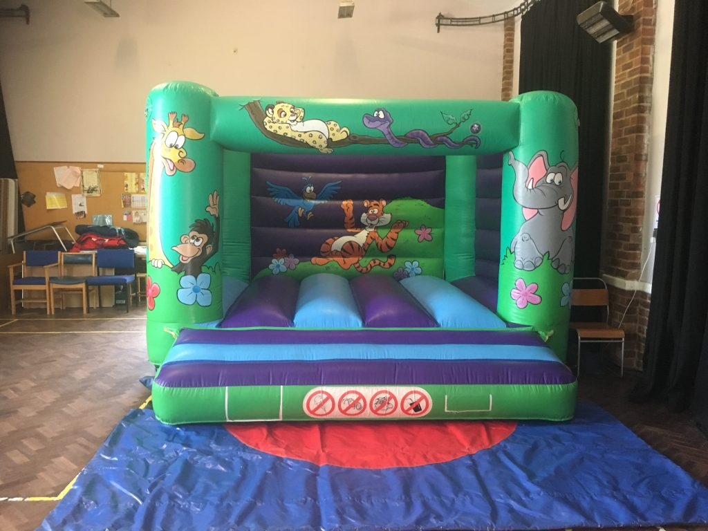 Jungle design bouncy castle for hire in Peartree Woolston Southampton