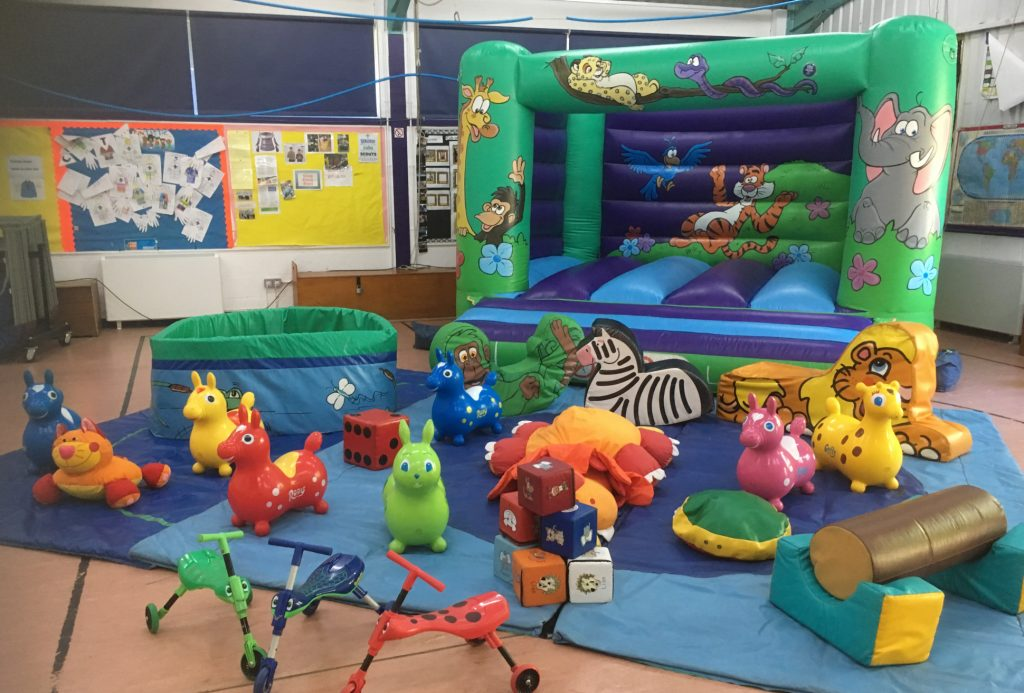 jungle themed party at Nursling and Rownhams Scout Hut Hall