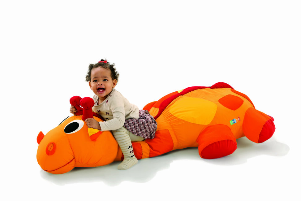 Olaf floor cushion by Wesco - available for hire soft play southampton