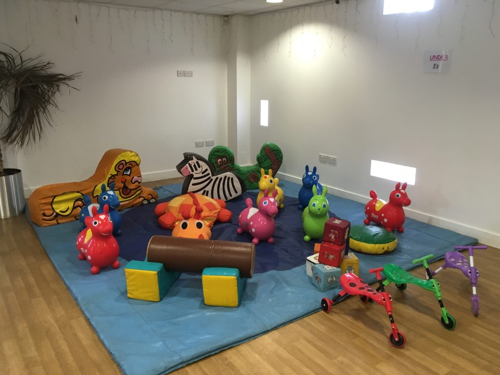 soft play for toddlers christening 1st birthday, Totton Eling Cricket Club