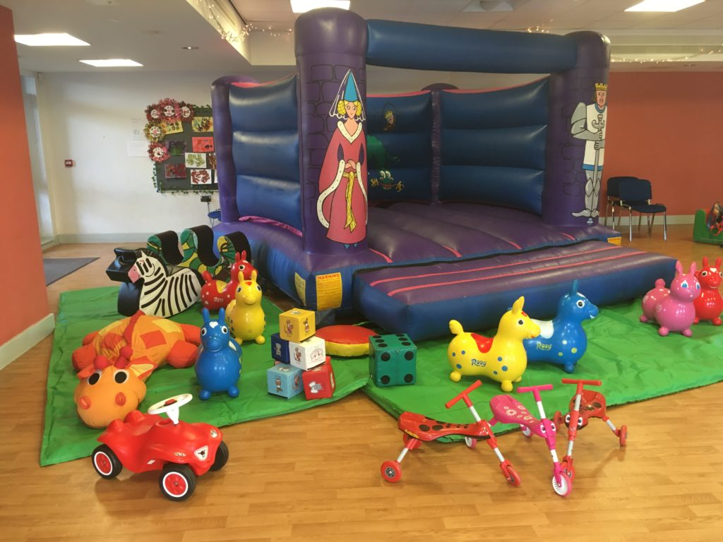 Knights and Princess Bouncy Castle Hire with Soft Play, Lowford, Southampton
