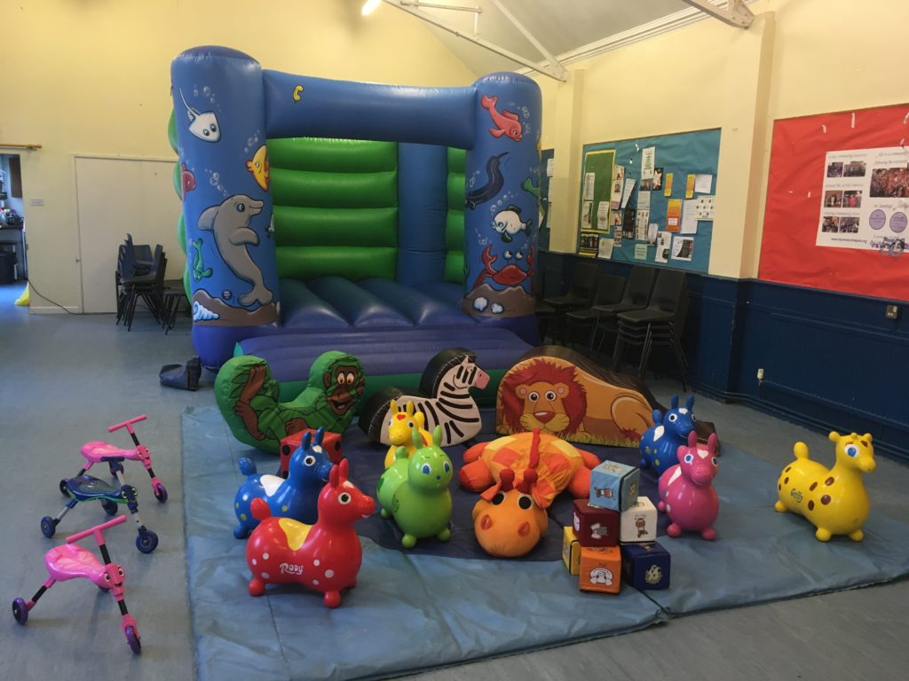 Sealife Bouncy Castle Hire with Soft Play in Shirley, Southampton