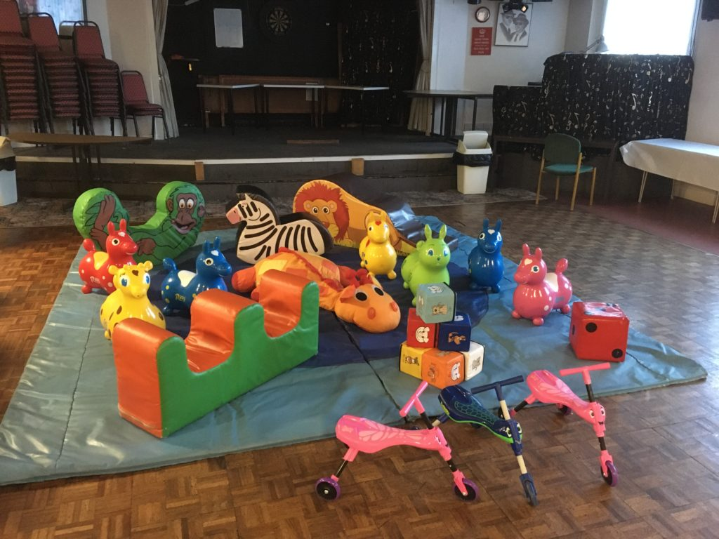 Soft Play Hire for Christening in Woolston, Southampton