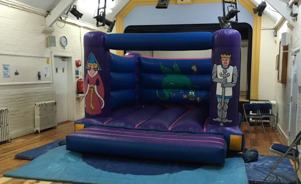 Knights and Princess Bouncy Castle hire in Curdridge, Southampton