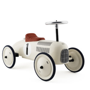 Metal speedster retro racing car for toddlers - hire in southampton