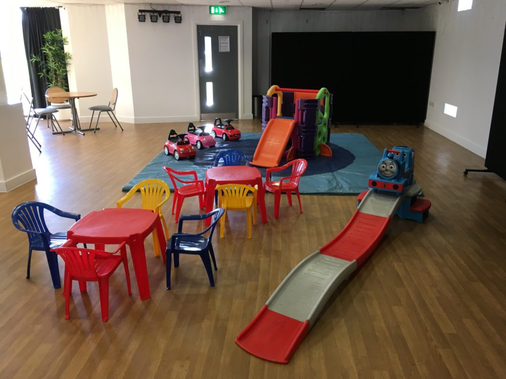 Assortment of Children's Party Toys and Tables and Chairs - Totton & Eling Cricket Club