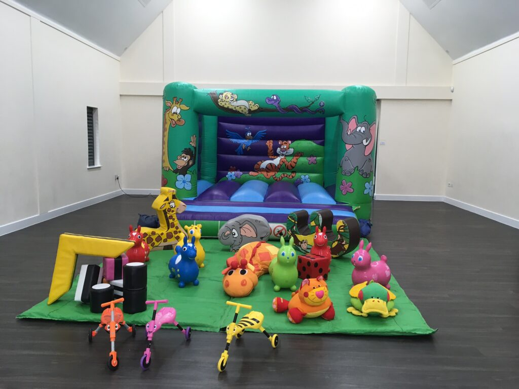 Jungle Bouncy Castle plus Soft Play at Abbotswood Community Centre, Romsey